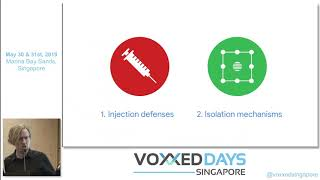 A new era of security - Voxxed Days Singapore 2019