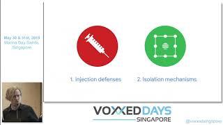 A new era of security - Voxxed Days Singapore 2019