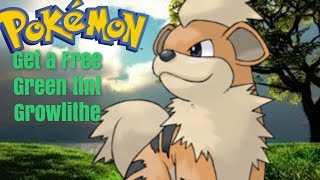 Roblox Project Pokemon // Get A Green Tint Growlithe // New Code #18