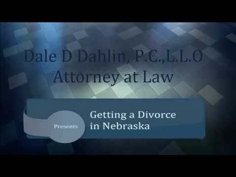 Divorce Proceedures in Nebraska