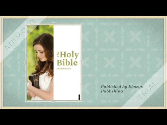 The Holy Bible eBook by John Biermanski (eBook trailer)
