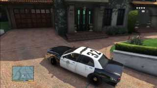 GTA 5 HOW TO STEAL A COP CAR