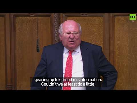 Mike Gapes: 'RT propaganda channel already gearing up to spread misinformation'
