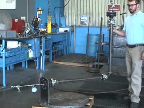 Hyspan 2inch 3 Ball Joint Wellhead Frost Heave Assembly, 340 psig test.wmv