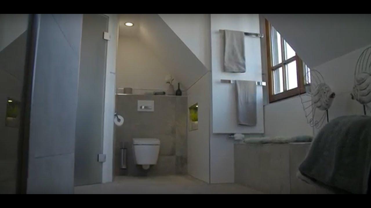 bodentiefe dusche statt duschwanne - youtube