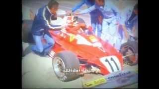 F1 1977 - Test Ferrari con Forghieri , Lauda e Reutemann