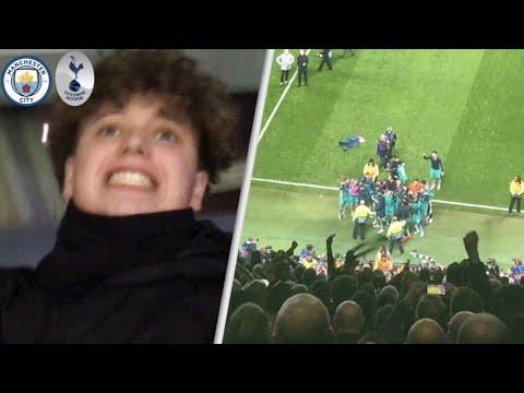 Man City 4-3 Tottenham(4-4 AGG)!Champions League Vlog! Heung min Son (손흥민/孫興慜) scores 2 goals!