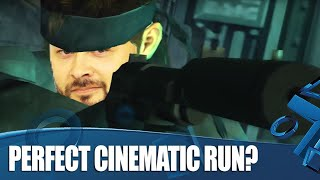 Metal Gear Solid 2 - 'Perfect' Cinematic Playthrough