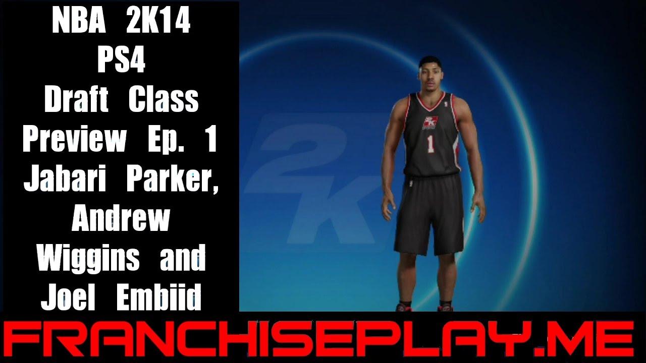NBA 2K14 Draft Class Preview - Ep. 1 - Jabari Parker ... Jabari Parker Nba 2k14