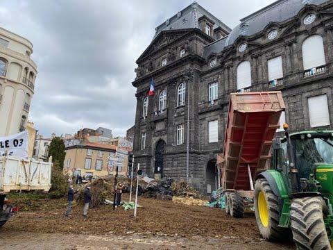 Download Frankreich - Bauernproteste treffen auf Staatsmacht - Unkommentierte Privataufnahmen - 25.03.2021