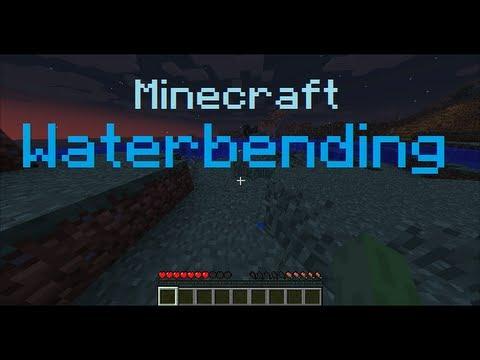 Waterbending In Minecraft! [Avatar Plugin]