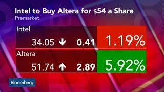 Intel Agrees To Buy Altera for $16.7B