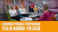 Suomen paras työpaikka Koti Puhtaaksi Oy YLEn aamu TV:ssä