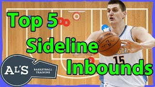 Top 5 Best Basketball Sideline Inbounds Plays