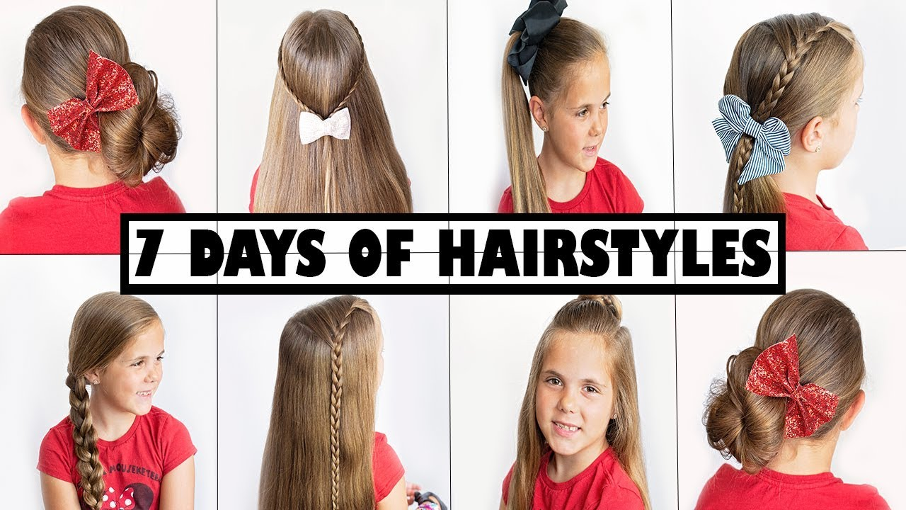 3 Minute Hairstyles - 3 Second Heatless Hairstyles Easy for School