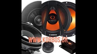 We are Installing Pioneer & Cadence Speakers/Tweeters/Crossovers in Mercedes CLK www.korbos.gr
