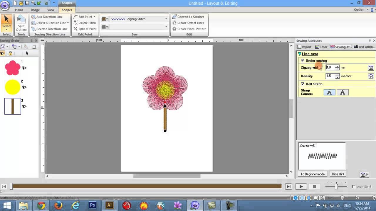 PE-DESIGN 10 Basic Drawing Shapes