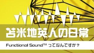苫米地英人の日常 第002回「Functional Sound(tm)って何ですか?」