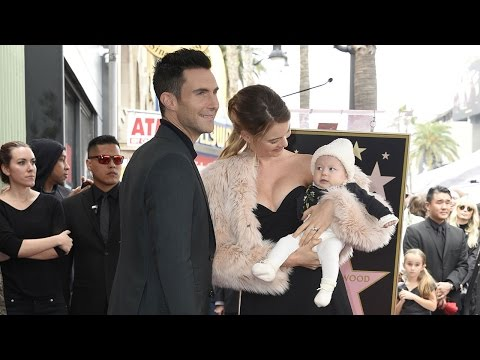 Adam Levine on Receiving Star on Walk of Fame: 'I'm One of the Luckiest People Who's Ever Lived'
