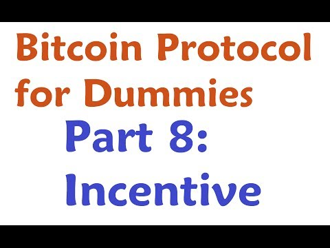 Bitcoin Protocol Tutorial #8: Incentive