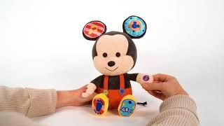 Disney Hooyay Hug and Play Mickey | Product Demonstration Video | Plush Toys For Kids