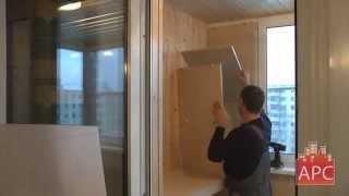 Встроенный шкаф и откидной столик для балкона(, 2013-05-12T16:46:14.000Z)