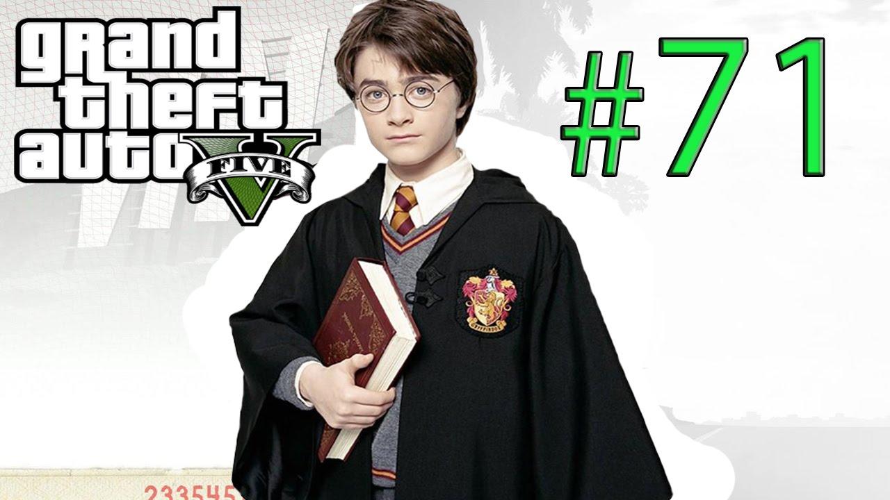 GTA 5 | Harry Potter'a Verdiğim İnanılmaz Ayar - Bölüm 71 (+18)