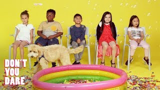 We Challenged Kids to Stay Completely Still | Don