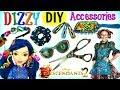 Disney DESCENDANTS 2 DIZZY Inspired DIY Accessories: Glasses Brush Hair Clips