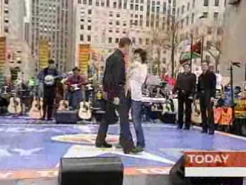 Ring Of Fire on the Today Show in 2006