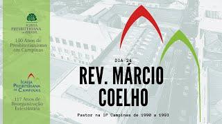 Palavra do Rev. Márcio Coelho