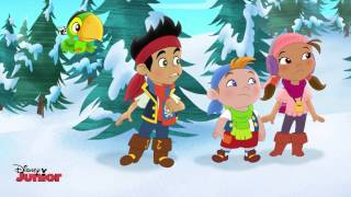 Jake and the Never Land Pirates | The Legendary Snow-Foot | Disney Junior UK