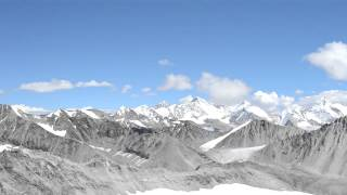 kalindi pass world as seen from 5994 mtrs asl
