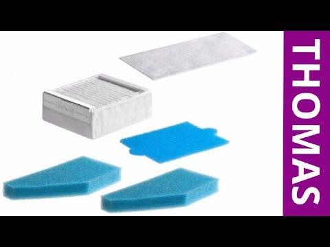 Оригинальные фильтры пылесоса Thomas Aqua Box Twin XT, Vesfalia XT