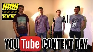 Youtube Content Day в Киеве! Mad Science и Kreosan