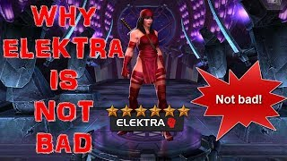 MARVEL CONTEST OF CHAMPIONS: Why Elektra Is Not Bad And Actually Great