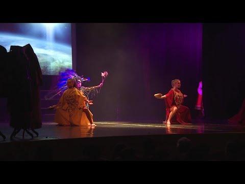 Во Дворце молодежи прошел гала-концерт фестиваля национального творчества