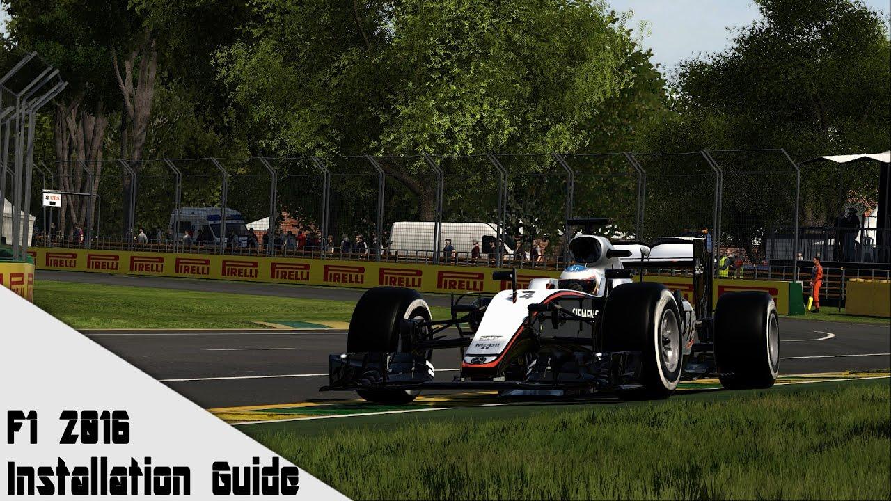 F1 2016 Mod Installation Guide Mclaren Mp4 20