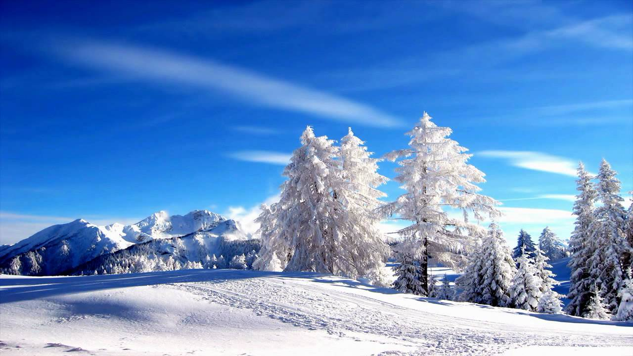 Winter HD Landscapes New Age Music HD Video