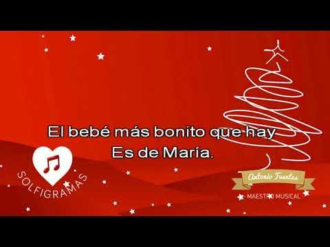 Es de María. Villancico. Fondo musical