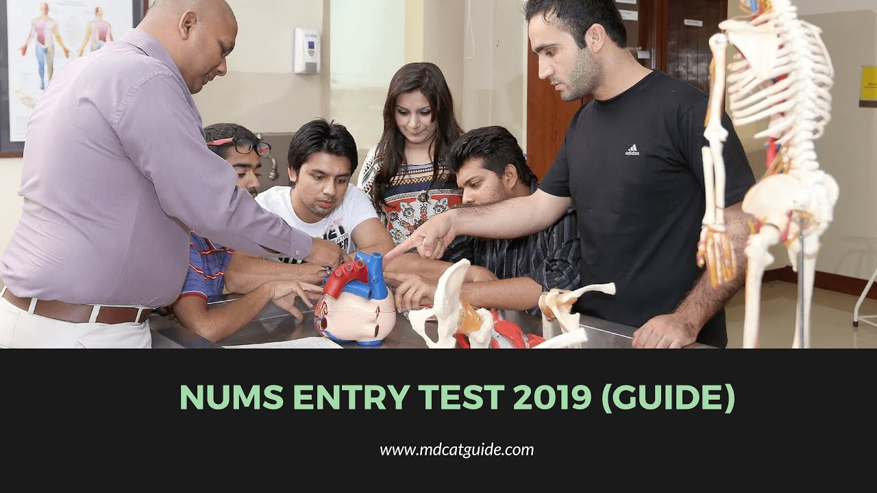Nums Entry Test 2019 [Preparation Guide with Syllabus] - MBBS Com Pk