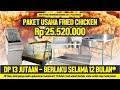 Paket Usaha Fried Chicken | DP 13 jt Berlaku 12 Bulan* | Persiapan...