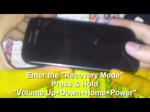 How To Backup & Restore Android System Via CWM Recovery
