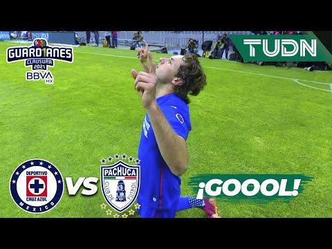 ¡GOOL! ¡Otra vez Giménez! | Cruz Azul 1-0 Pachuca | Guard1anes 2021 BBVA MX  Semis | TUDN