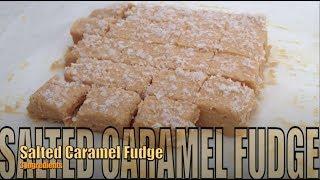 Salted Caramel Fudge 3 Ingredients Cheekyricho
