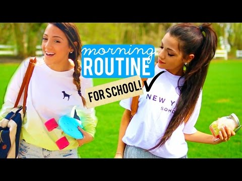 Thumbnail: Morning Routine for School 2015 | Niki and Gabi