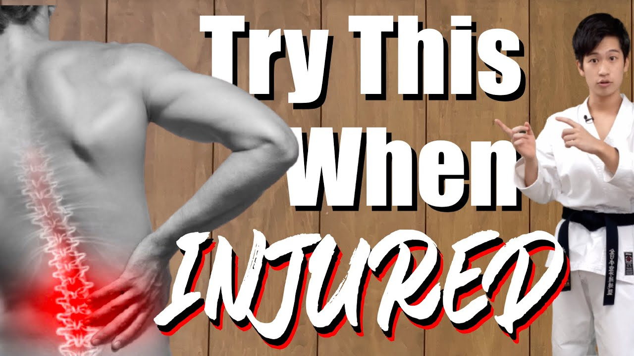 3 Karate Practice Drills When You're Injured!