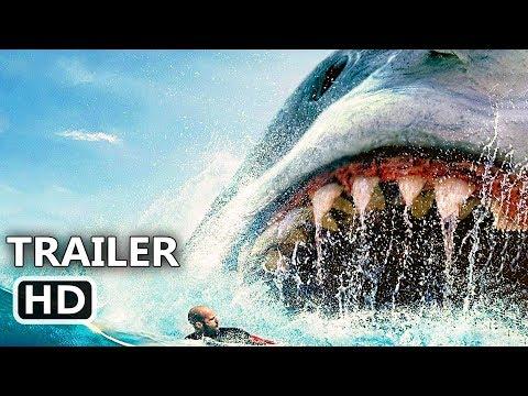 """THE MEG """"Megalodon Attacks Swimmers"""" Trailer (NEW 2018) Jason Statham, Shark Movie HD"""