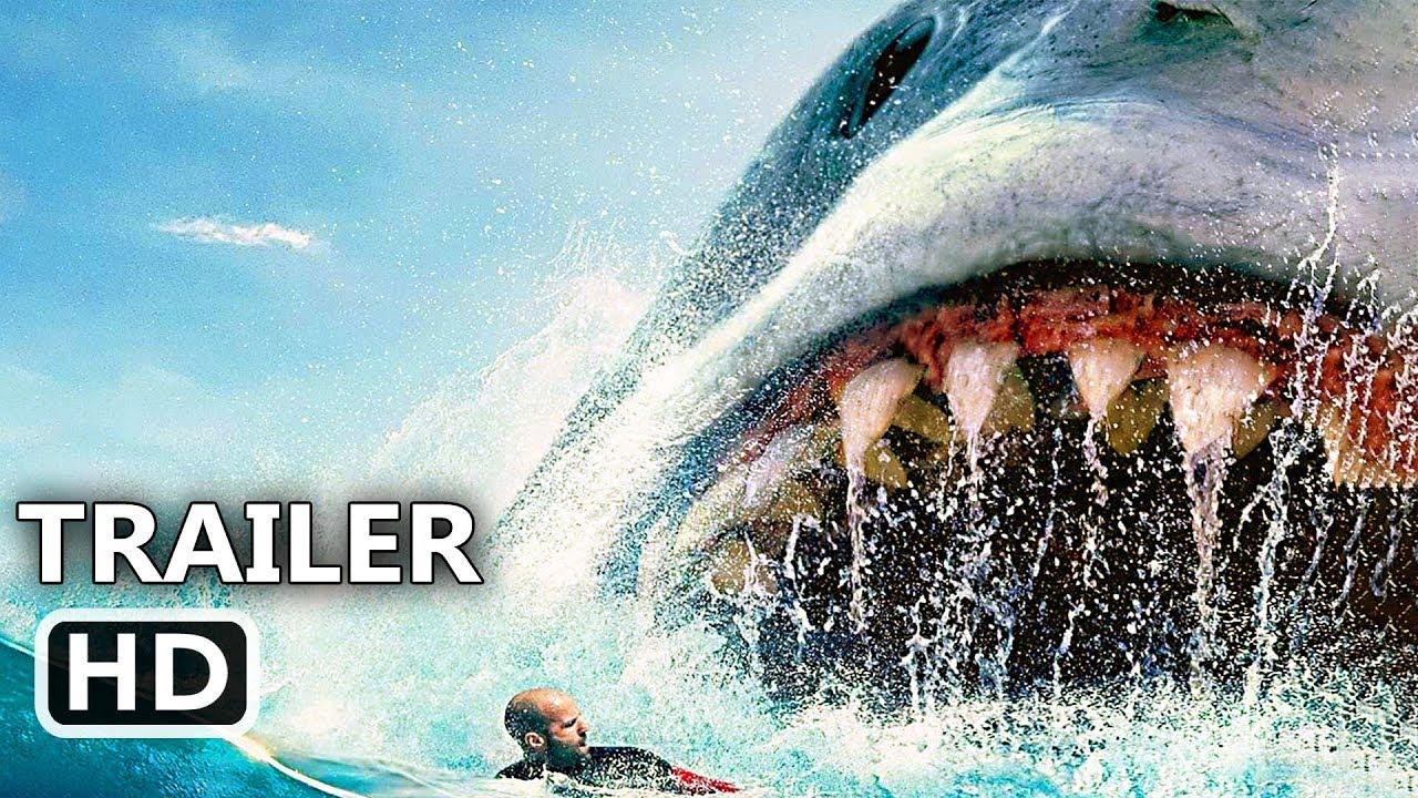 """THE MEG """"Megalodon Attacks Swimmers"""" Trailer (NEW 2018) Jason Statham, Shark Movie HD - YouTube"""