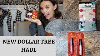 DOLLAR TREE HAUL| FUN NEW FINDS| LAST HAUL OF NOVEMBER :)